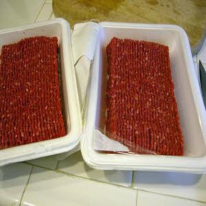 گوشت بسته بندی شده
