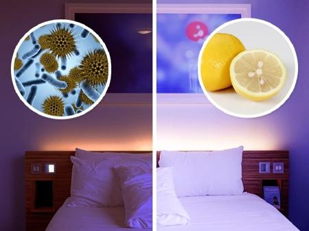 بهبود بخشیدن به روحیه با لیمو,فایده های قرار دادن لیمو در کنار تخت
