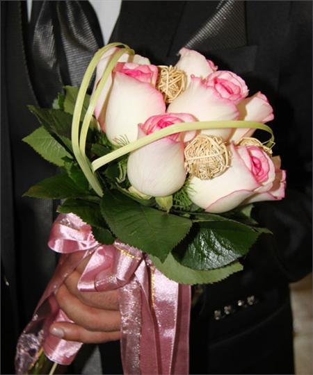 عکس انواع دسته گل عروس,عکس دسته گل عروس,مدل دسته گل عروس