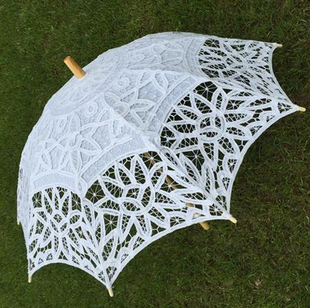 مدل چتر سفید عروس,چتر عروس