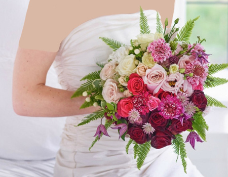 دسته گل عروس,مدل دسته گل عروس
