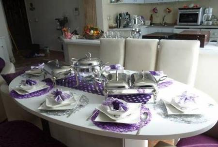 چیدمان میز غذاخوری در جهیزیه,تزیین کردن میز غذاخوری