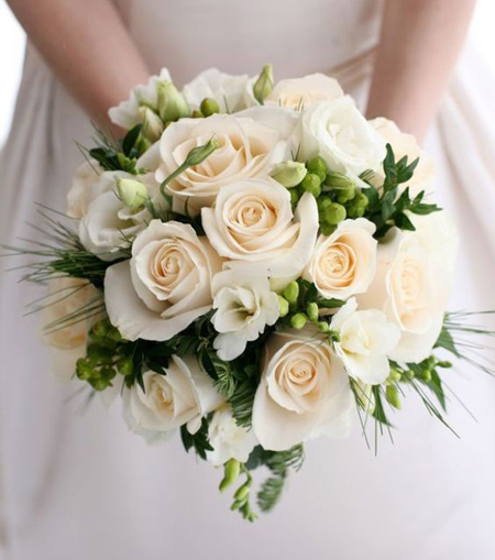 جديدترين دسته گل عروسي, دسته گل عروس طبيعي