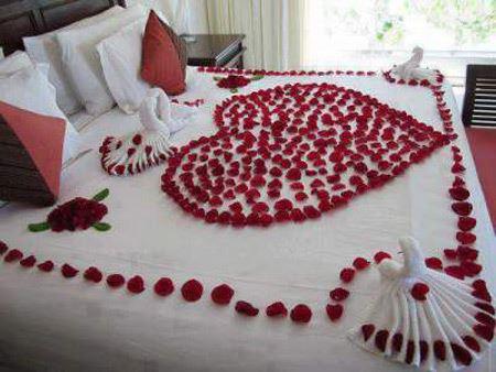 تزيين اتاق خواب عروس, چيدمان اتاق خواب عروس
