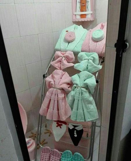 تزیینات شیک حمام عروس,شیک ترین تزیینات حمام عروس