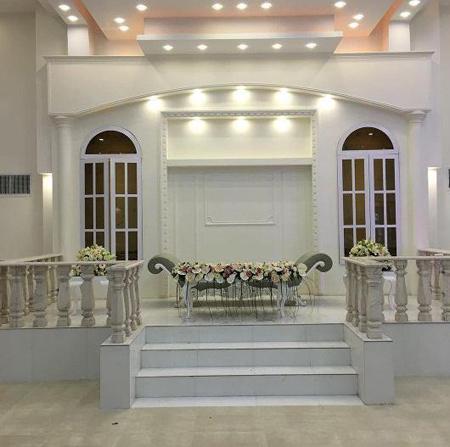 تزئین جایگاه عروس و داماد, جایگاه عروس و داماد در تالار