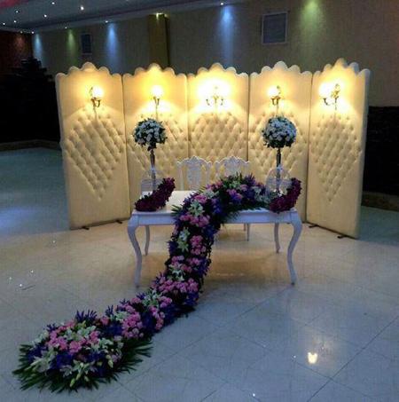 تزیینات زیبای جایگاه عروس و داماد, شیک ترین جایگاه های عروس و داماد
