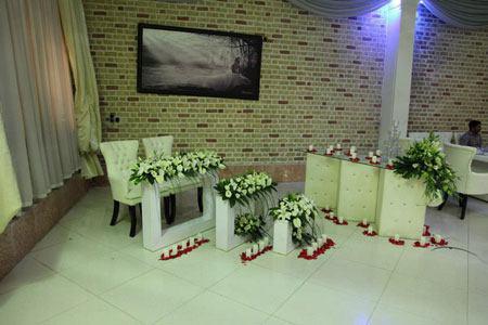 شیک ترین جایگاه های عروس و داماد, طراحی جایگاه عروس و داماد