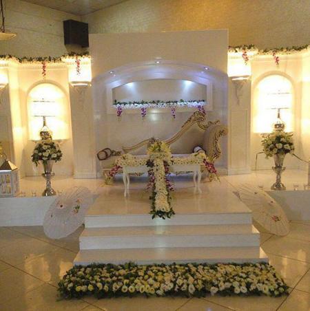 طراحی جایگاه عروس و داماد,جایگاه عروس و داماد