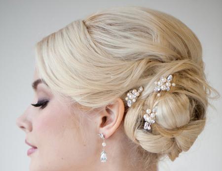 گل سر عروس,گل سرهای شیک و زیبای نامزدی عروس