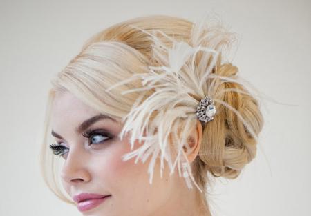 تزئینات عقد و عروسی|مدل گل سر نامزدی عروس
