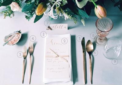 انواع چیدمان میز غذاخوری, نکاتی برای چیدمان میز غذاخوری