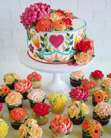 کیک تولد, تزیینات جالب کیک