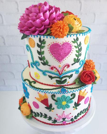 جالب ترین تزیینات کیک,طرح های کیک تولد