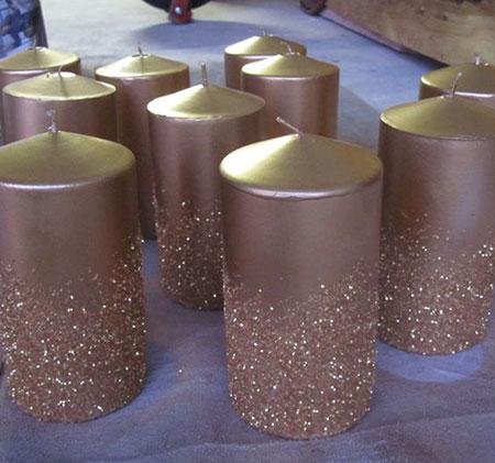 جدیدترین تزیینات شمع,آموزش ساخت شمع