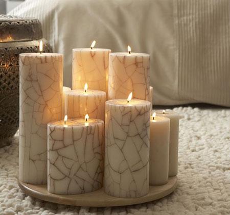 مدل تزیین شمع,جدیدترین تزیینات شمع
