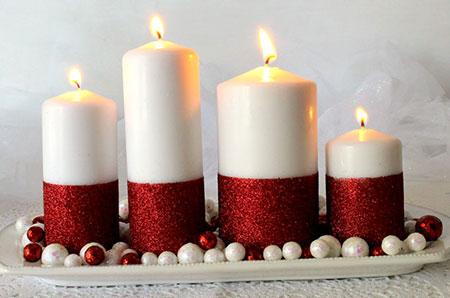 مدل های طراحی شمع,تصاویر تزیین شمع