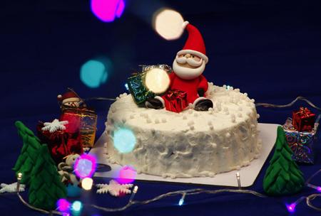 تزیین کیک تولد ویژه کریسمس,تزیین کیک کریسمس