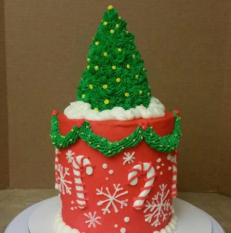 مدل تزیین کیک کریسمس,تزیینات کیک کریسمس
