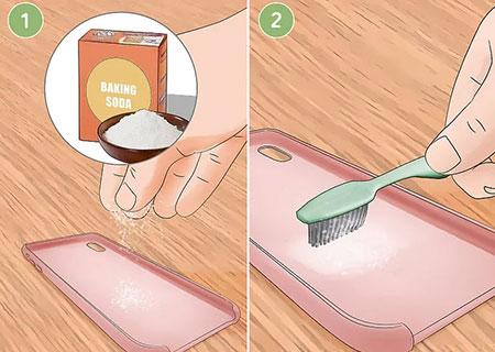 روش تمیز کردن گارد سیلیکونی, شستشوی گارد تلفن