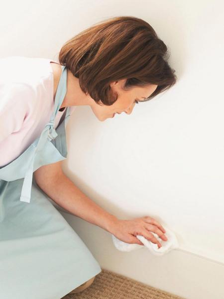 تمیز کردن دیوار و کاغذ دیواری,نحوه تمیز کردن دیوار و کاغذ دیواری