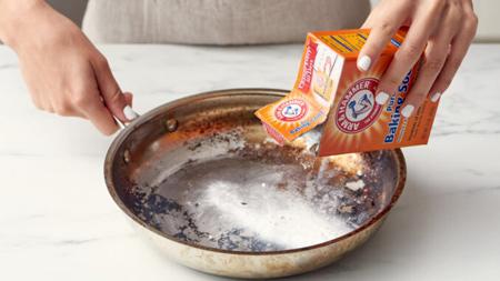تمیز کردن قابلمه های آلومینیومی,راههای تمیز کردن قابلمه