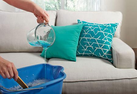 تمیز کردن مبلمان,نحوه تمیز کردن مبلمان در خانه