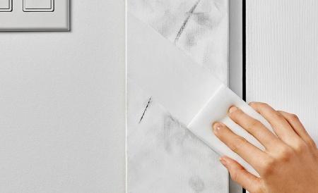 نحوه پاک کردن لکه از روی دیوار گچی, طرز پاک کردن لکه ها از روی دیوار