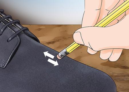 نحوه تمیز کردن کفش های جیر,آموزش تمیز کردن کفش های جیر