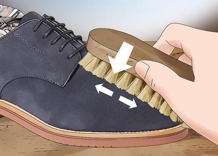 آموزش مرحله ای تمیز کردن کفش جیر,راهنمای تمیز کردن کفش جیر