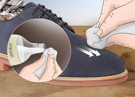 روش تمیز کردن کفش های جیر,نحوه تمیز کردن کفش های جیر