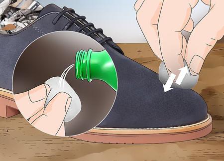 راهنمای تمیز کردن کفش جیر,مهارت های تمیز کردن کفش