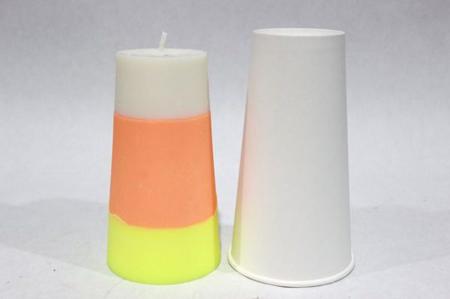 روش درست کردن شمع, نکاتی برای درست کردن شمع های سه رنگ
