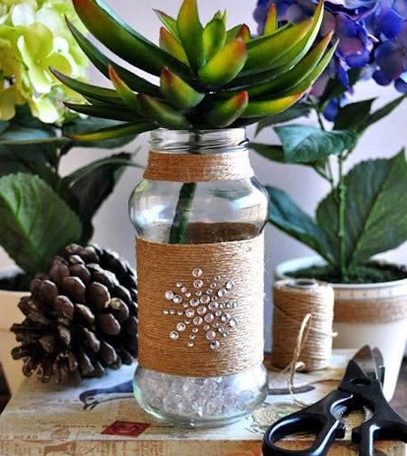 تزیین شیشه سس,استفاده از شیشه های انواع مواد غذایی ,انواع تزیین شیشه سس