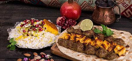 عکس های تزیین نان و کباب,تزیین نان و کباب