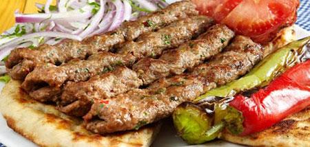 تصاویر تزیین نان و کباب, تزیینات نان و کباب