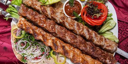 ایده هایی برای تزیین نان و کباب, تزیین کباب و نان
