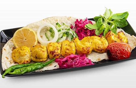 تزیینات زیبای نان و کباب,نحوه ی تزیین نان و کباب