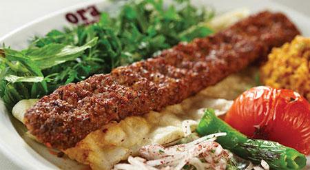 مدل تزیین نان و کباب, تصاویر تزیین نان و کباب