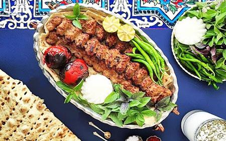 تزیینات نان و کباب, تزیینات زیبای نان و کباب