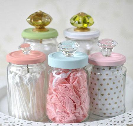 تزیین شیشه های مربای عروس, شیشه های مربای عروس