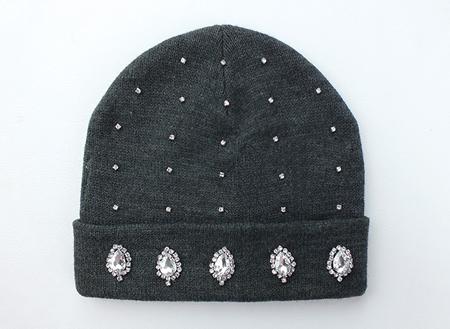 تزیین کلاه بافتنی