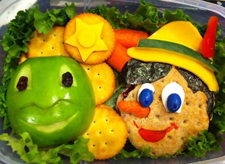 تصاویر تزیین غذا,ایده تزیین غذا