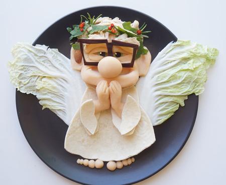 تزیین غذای کودک, ایده هایی برای تزیین غذا