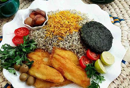 تزیین ماهی پلو مجلسی, تزیینات زیبای ماهی