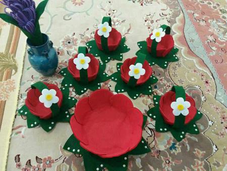 مدل ظروف هفت سین, تزیین ظروف هفت سین