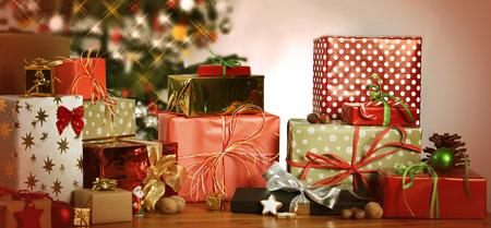 مدل هدیه های سال نو,تزیین هدایای کریسمس