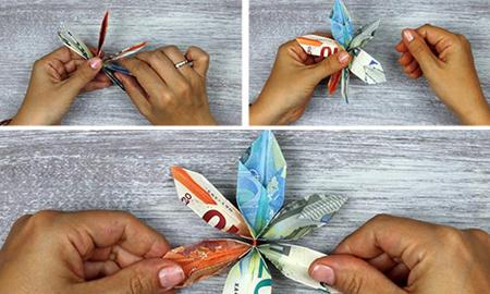مدل تزیین پول عیدی, ایده هایی برای تزیین عیدی