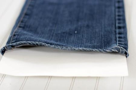 شیوه طراحی روی شلوار جین, وسایل مورد نیاز برای طراحی روی شلوار جین