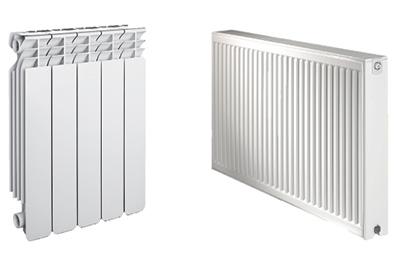 ویژگی رادیاتورهای پره ای,تفاوت های رادیاتورها